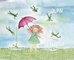 Quan plouen granotes, 17 contes il·lustrats