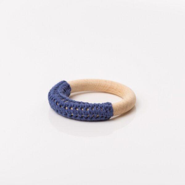 Aro de agarre/ Mordedor de crochet