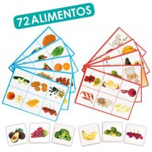 Loto 72 alimentos