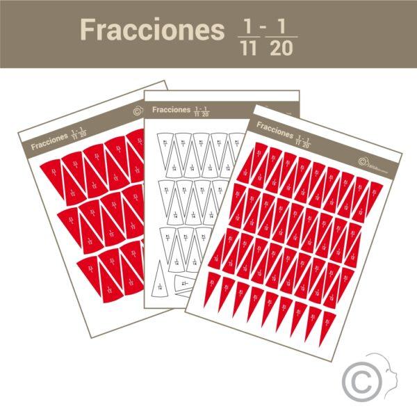 Fracciones 1- 1/10