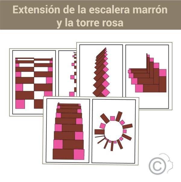 Extensiones Torre Rosa y Torre marrón combinadas