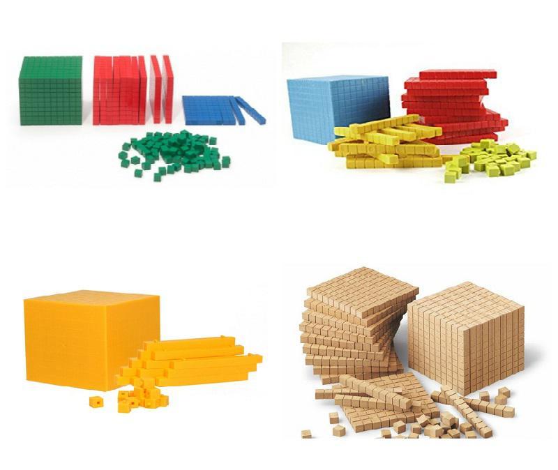 Distintos  tipos de material multibase