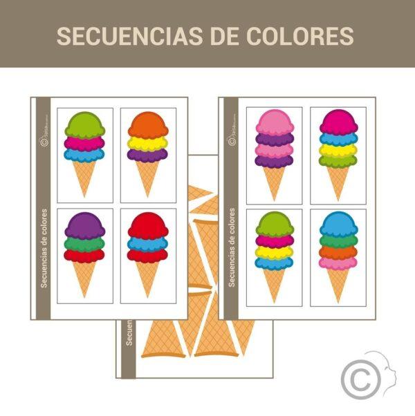 Secuencia de colores