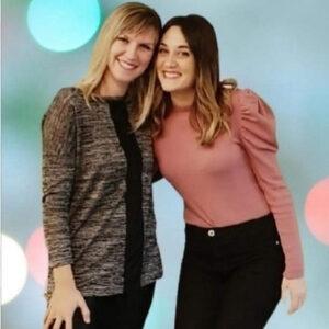 Erika Navarro y Beatriz Labarga